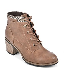 Delroy Lace-Up Booties