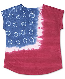 Petite Plus Size Tie-Dyed T-Shirt, Created for Macy's
