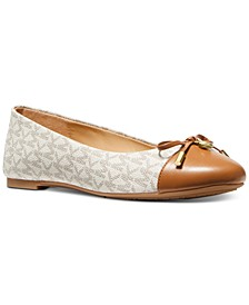 Melody Cap-Toe Bow Flats