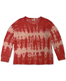 Petite Tie-Dyed Sweatshirt, Created for Macy's