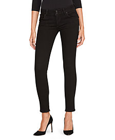 Hudson Jeans Collin Mid Rise Skinny Jeans