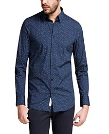 Men's Sunset Printed Shirt
