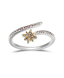 Crystal Star Bypass Ring