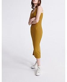 Women's Sahara Knit Midi Split Dress