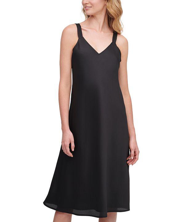 DKNY V-Neck Camisole Dress