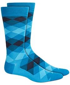 Men's Diamond Ombre Socks, Created for Macy's