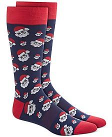 Men's Blue Holiday Socks, Created for Macy's
