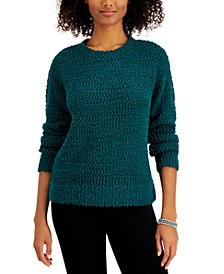 Teddy Bouclé Sweater, Regular & Petite, Created for Macy's