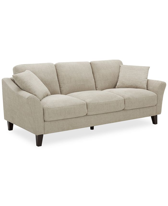 """Furniture - Lylie 82"""" Fabric Sofa"""