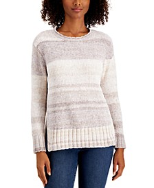 Printed Chenille Sweater, Created for Macy's