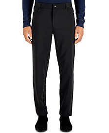 Men's Four Pocket Travel Pants, Created for Macy's
