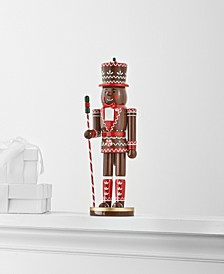 Christmas Cheer, Gingerbread Man Nutcracker, Created for Macy's