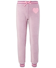 Little Girls Velour Sweatpants, Created for Macy's