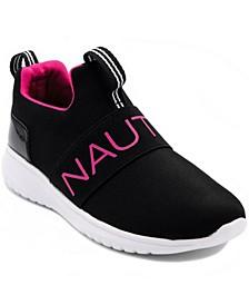 Big Girls Canvey Mesh Slip-On Sneakers