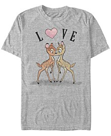 Men's Bambi Love Short Sleeve T-Shirt