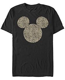 Men's Animal Ears Short Sleeve T-Shirt