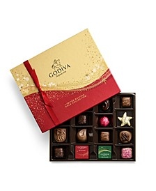 Holiday Chocolate Gift Box, 16 Piece Set