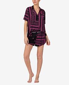 Short Sleeve Top & Shorts Pajama Set