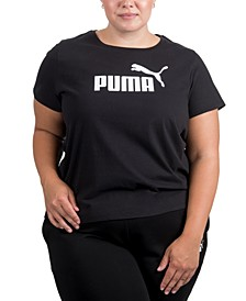 Plus Size Logo Crewneck T-Shirt