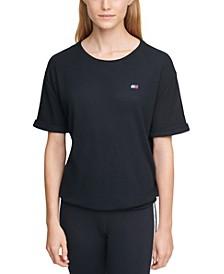 Waffle-Rib T-Shirt