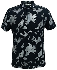 Men's Textured Pattern Polo, Created for Macy's