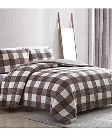Ashton 3pc Full/Queen Comforter Set