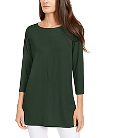 3/4-Sleeve Tunic, Created for Macy's
