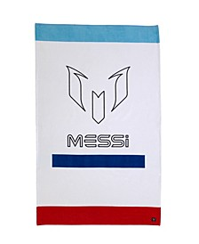 Messi Logo Bar Beach Towel