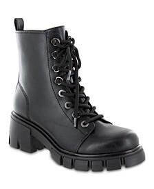 Women's Mila Lug Sole Combat Boots