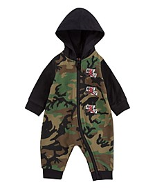 Baby Boys Jumpman Classics Hooded Coverall