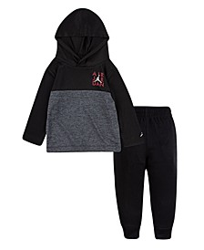 Baby Boys Hooded T-Shirt and Pants Set