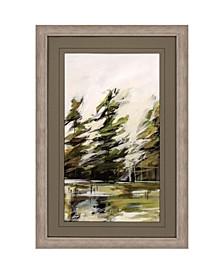 """Evergreen 1 Framed Wall Art, 44"""" x 29"""""""
