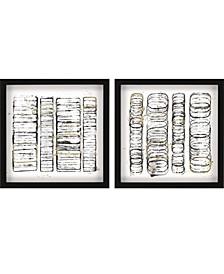 """Seismic Order Pack 2 Framed Wall Art, 28"""" x 28"""""""