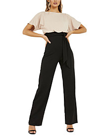 Quiz Two-Tone Jumpsuit