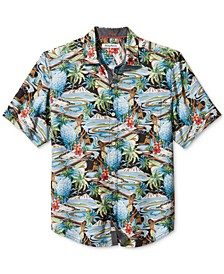 Men's Coconut Point Tropical Surf Camp Shirt
