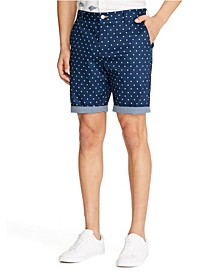 Men's Dot Print Shorts