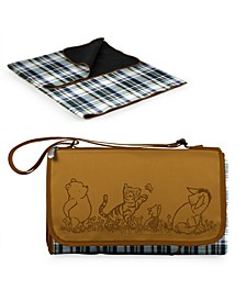Disney's Winnie The Pooh Outdoor Picnic Blanket with Blanket Tote