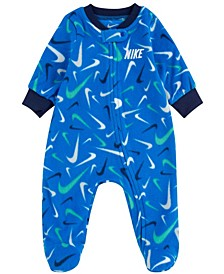 Baby Boys Microfleece Footed Coverall