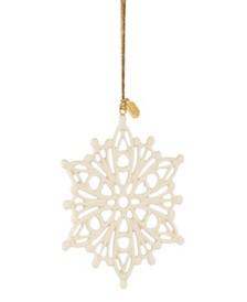 2020 Golden Snow Fantasies Snowflake Ornament
