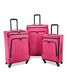 4 Kix 3-Pc. Softside Luggage Set