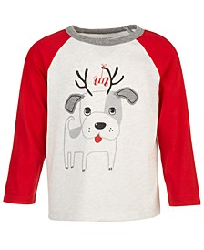 Baby Boys Doggie Reindeer T-Shirt, Created for Macy's