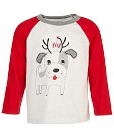 Baby Boys Doggie Reindeer T-Shirt, Created for Macy's
