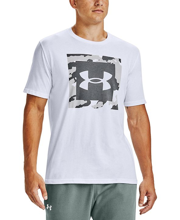 Under Armour Men's Camo Box Logo T-Shirt