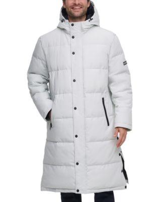 Long Hooded Parka Men's Jacket, Created for Macy's