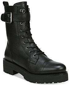 Sam Edelman Women's Junip Lug Sole Combat Boots