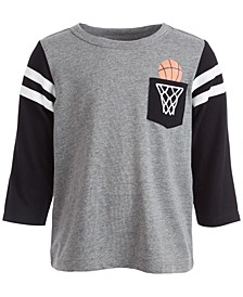 Baby Boys Basketball Pocket Tee, Created for Macy's
