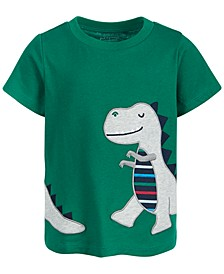 Baby Boys T-Rex Cotton T-Shirt, Created for Macy's