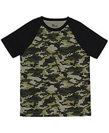 Epic Threads Big Boys Short Sleeve Crew Neck Ronny Camo T-Shirt