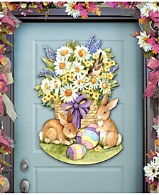 by Susan Winget Spring Bunnies Wall and Door Decor