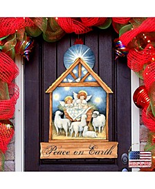 by Susan Winget Angels Nativity Wall and Door Decor